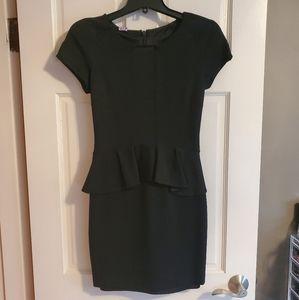 Bebe Peplum Style Dress